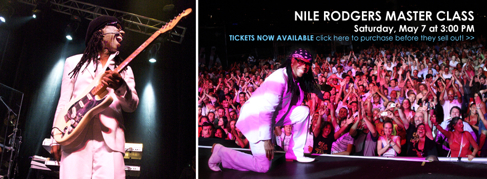 Nile Rodgers Master Class