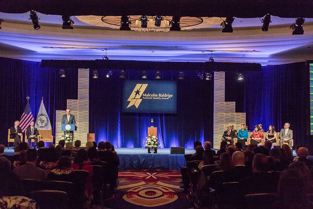 Department of Commerce Announces Baldrige National Quality Award Winners for 2018