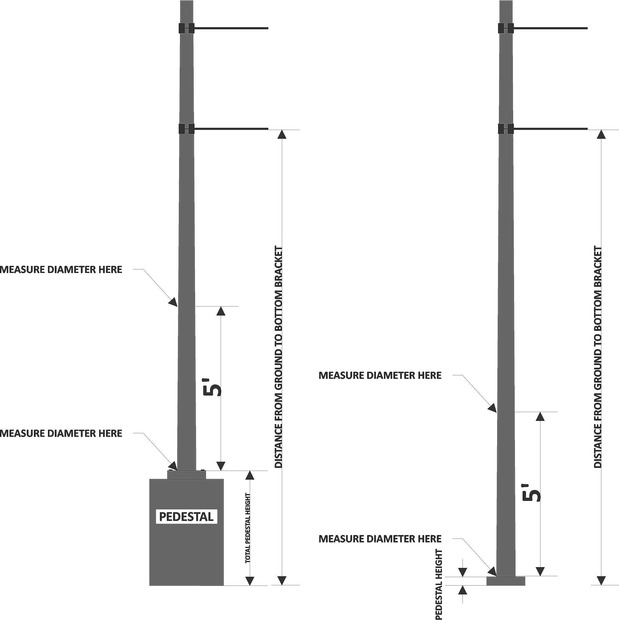 """(DOWNLOAD PDF) """"Instructions for Measuring a Tapered Pole"""""""