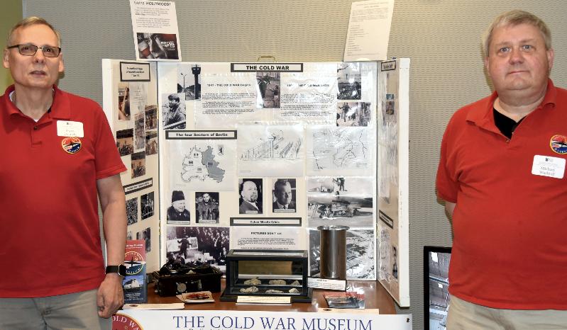 Cold War Museum Display at the 2019 NCMF Spring Program