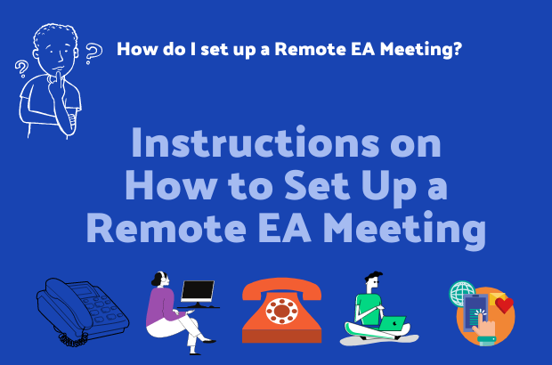 How to Start a Virtual/Remote meeting