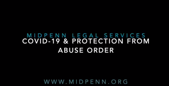 Protection from Abuse in a Time of COVID-19