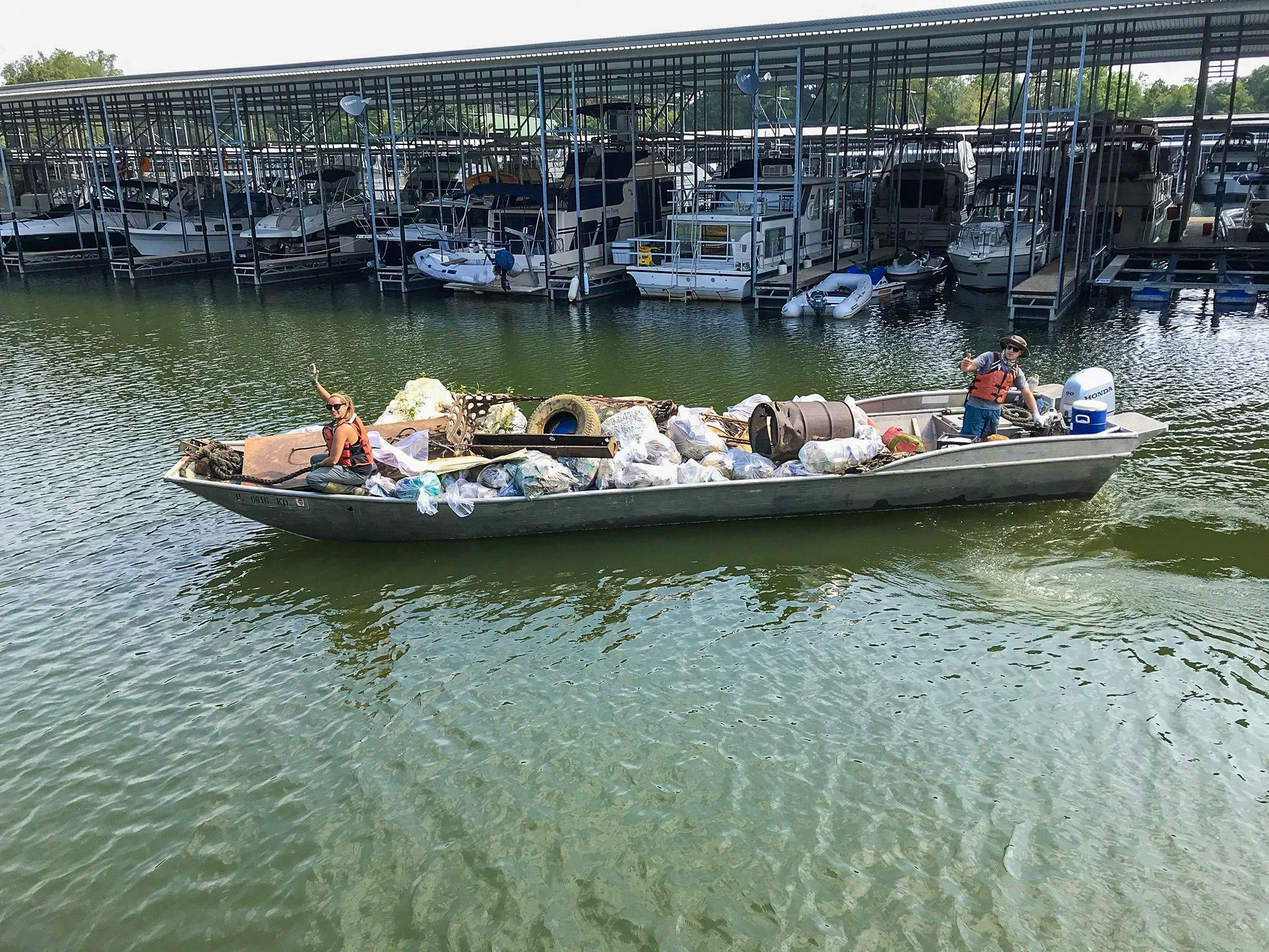 Tennessee River Cleanups