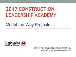 2017 Construction Leadership Academy
