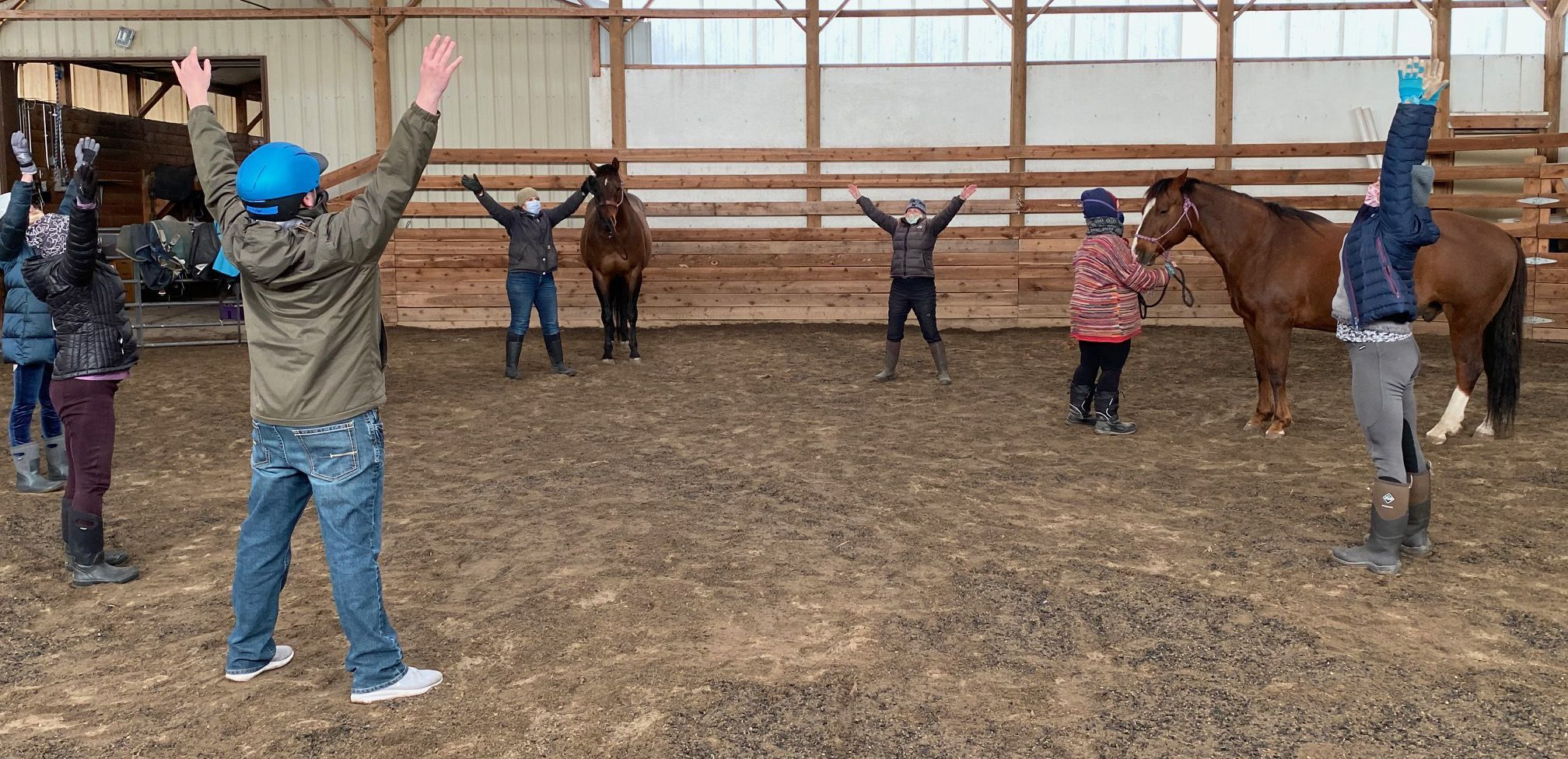 Practicing Mindfulness with Horses