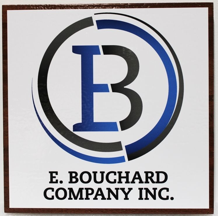 S28215 - Carved 2.5-D HDU  Sign for the E. Bouchard Company, Inc