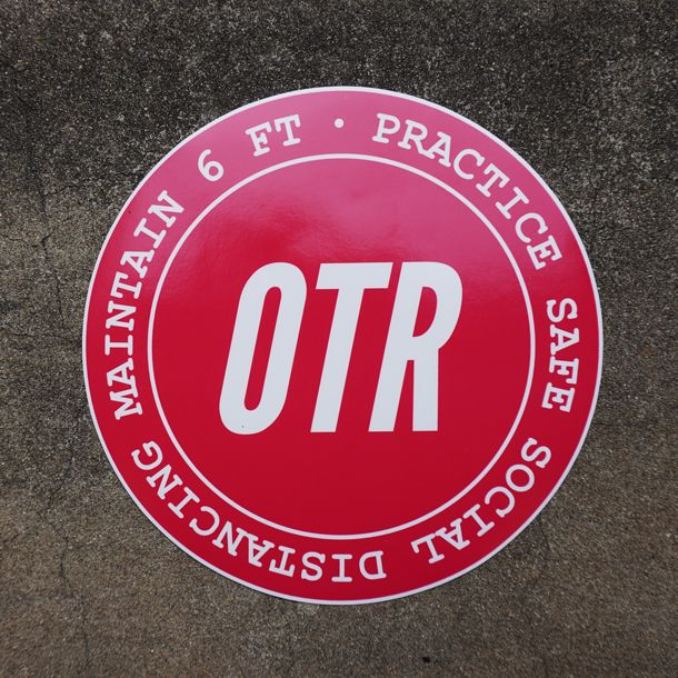 OTR Floor Decal