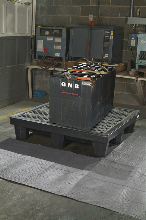 A01PF320 4 Drum Spill Pallet With Drain