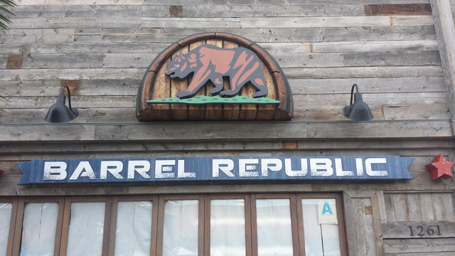 Barrel Republic Exterior Sign