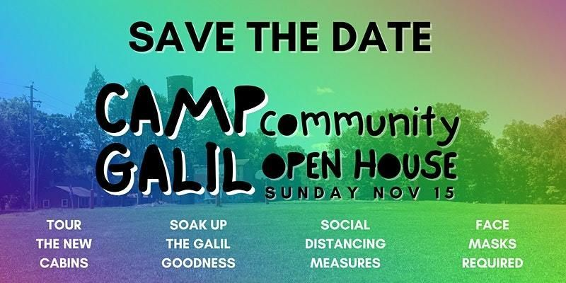 Camp Galil Open House