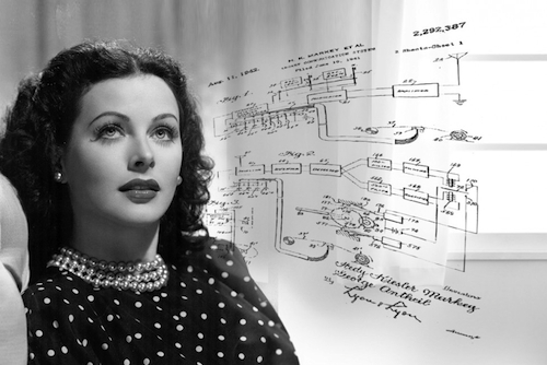 """How Hedy Lamarr Created Early Wireless Technology,"" via IQ Intel"