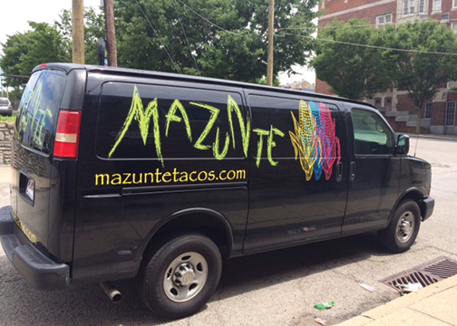 Mazunte Vehicle Graphics