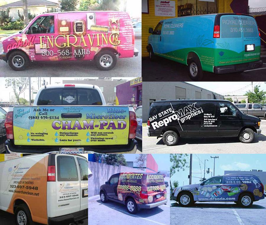 Vehicle Graphics Wraps