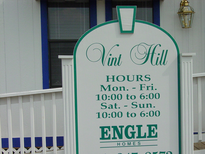 Vint Hill Community Sign