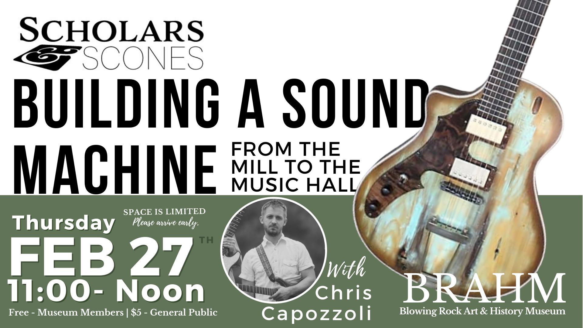 Scholars & Scones: Building a Sound Machine