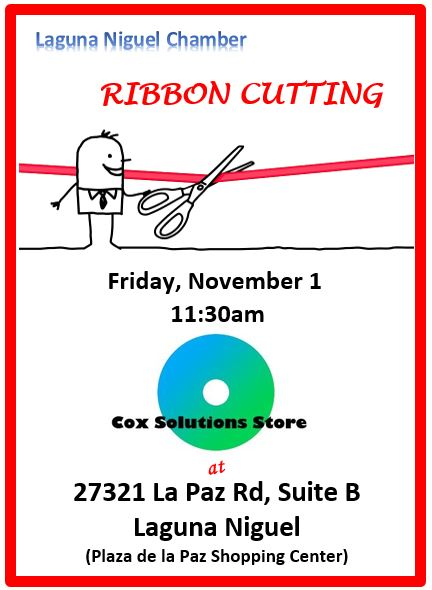 Cox Solutions Store Ribbon Cutting