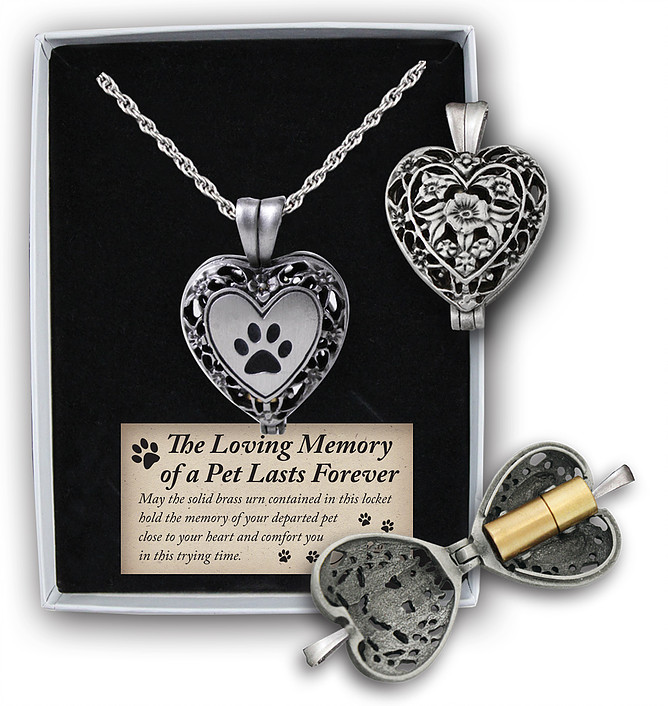 Pet Memorial Heart Locket