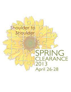 Spring Clearance 2013: Shoulder to Shoulder