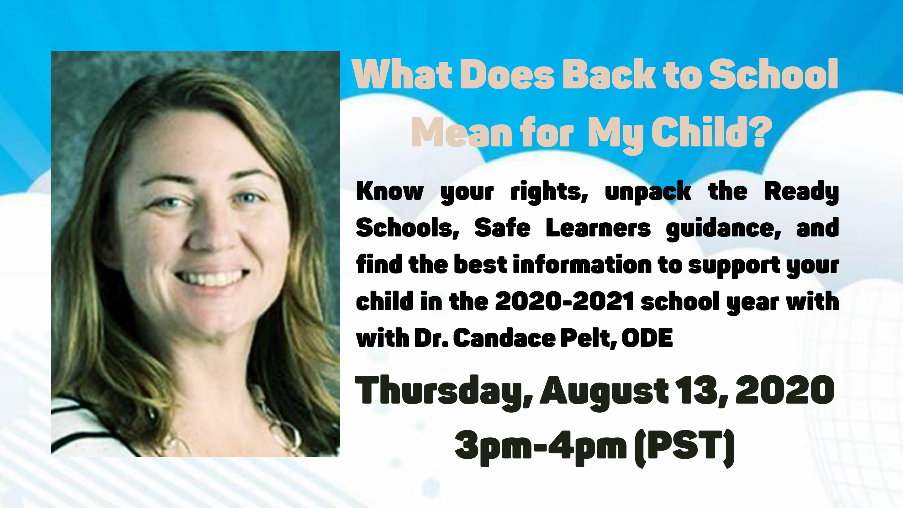 What Does Back to School Mean for My Child?