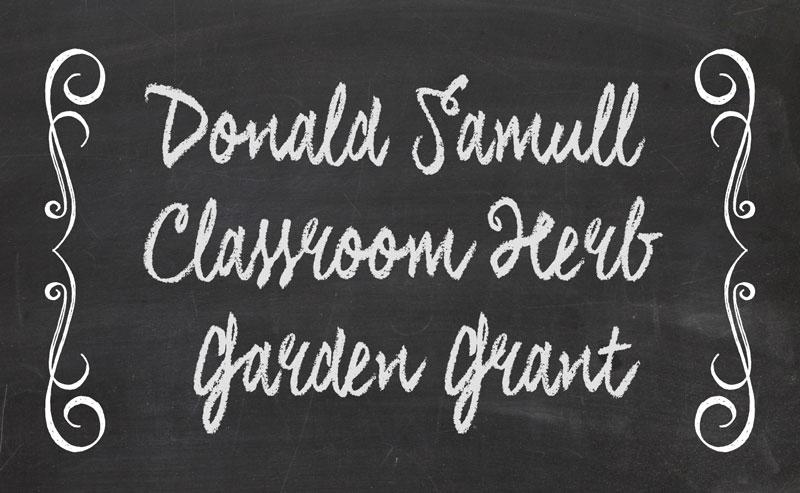 Donald Samull Grant