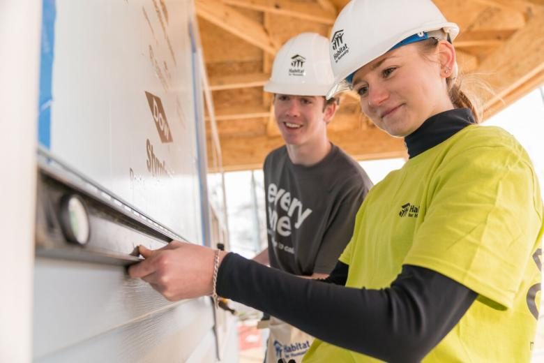 5,000 students will spend their spring break working with Habitat for Humanity