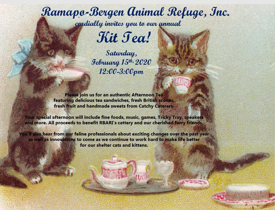 RBARI's Annual Kit Tea!