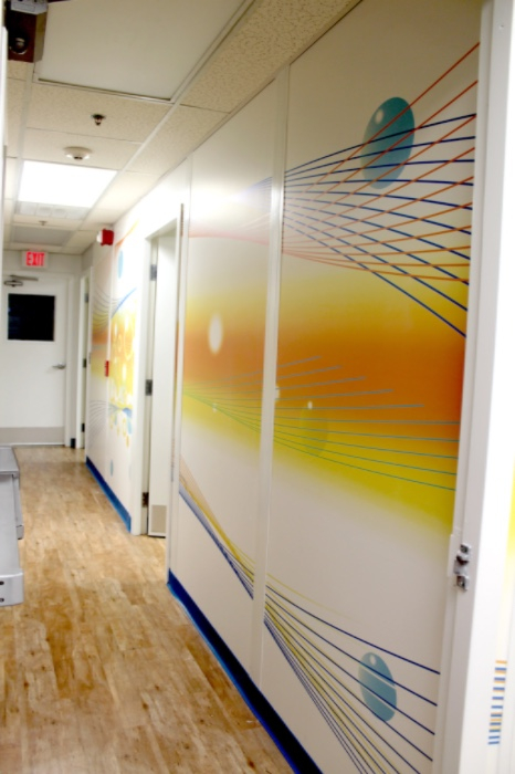 P&G Corporate Studios Wall Mural