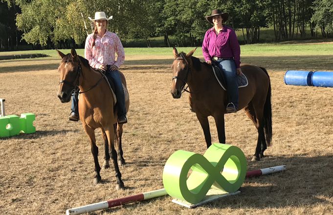 UMW Natural Horsemanship Students Complete Internship in France