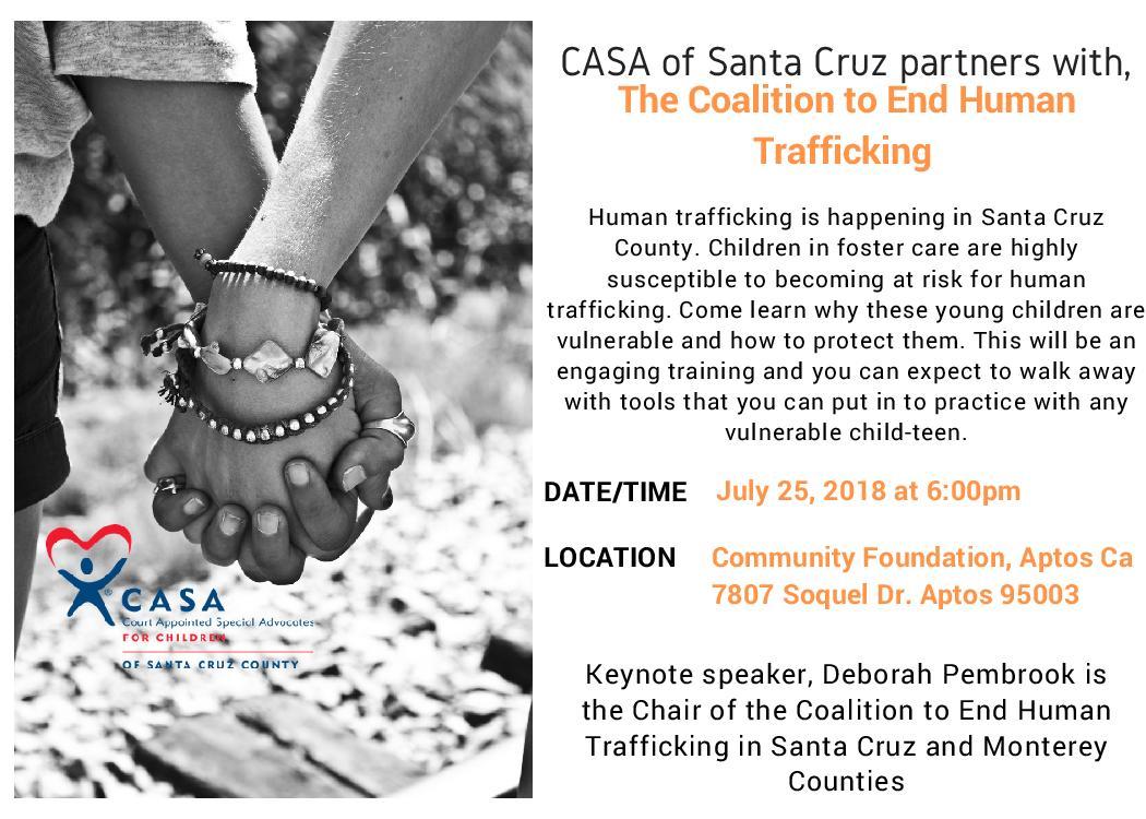 CASA Presents: Human Trafficking Information Training