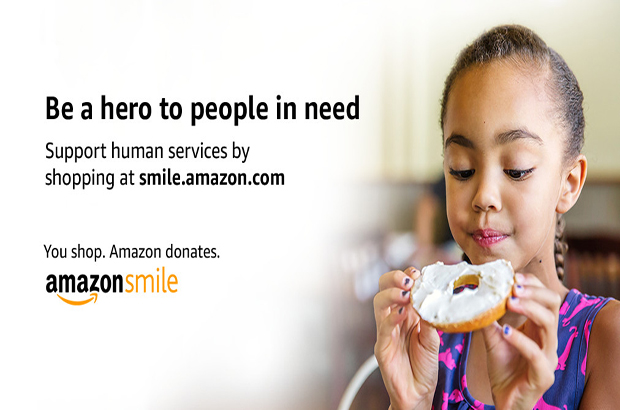 Join Amazon Smile and choose us as your charitable organization!