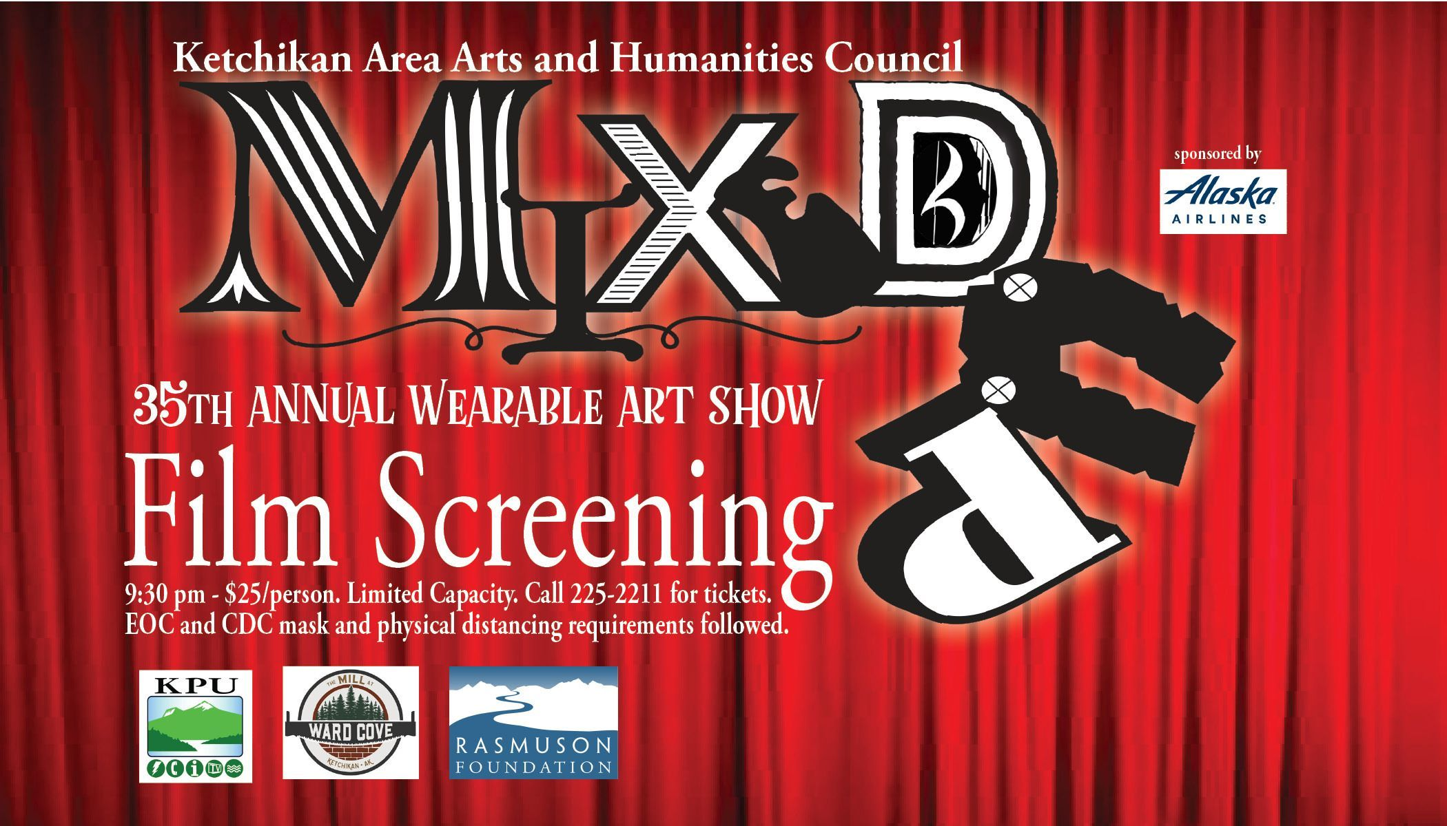 """Mixed Up"" the 35th Annual Wearable Art Show Film Screening"