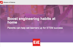 Webinar May 28 - Boost Engineering Habits at Home