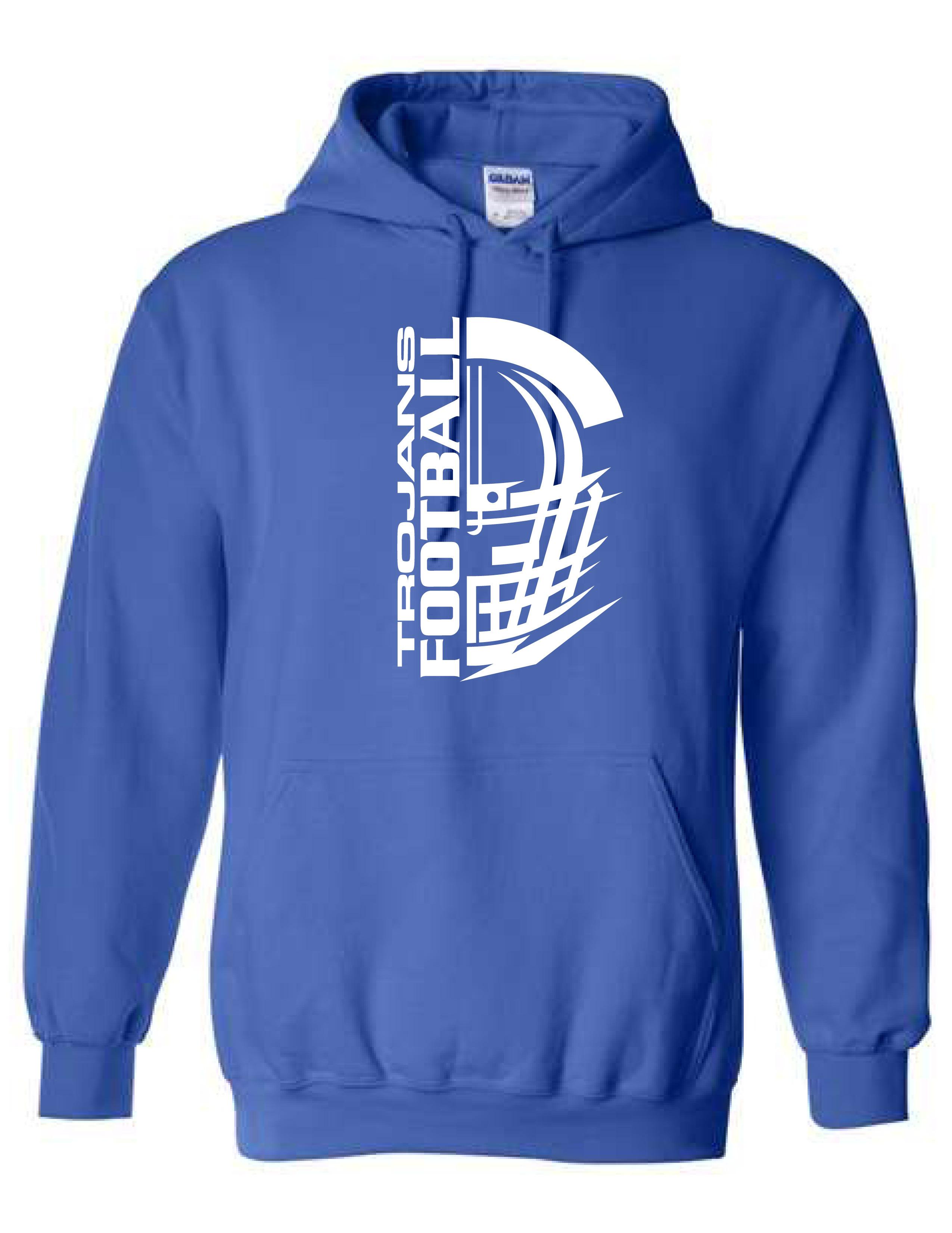 Hooded Sweatshirt  (HELMET)