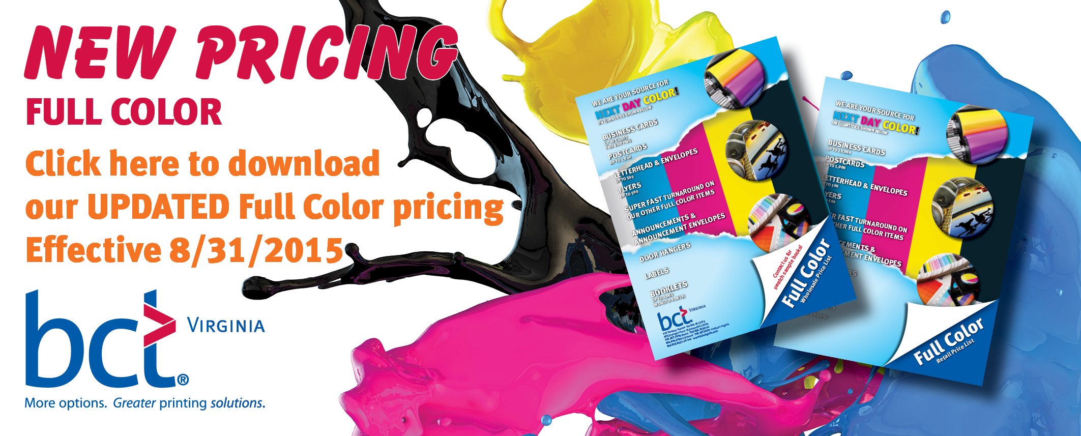 NEW FULL COLOR PRICING AUG 2015