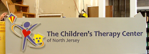 B11028 –Dimensional  and Engraved Large Sign for Children's Therapy Center