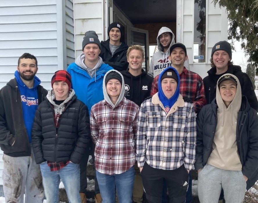Cedarville Fraternity Clears the Way for the Next Project in Clark County