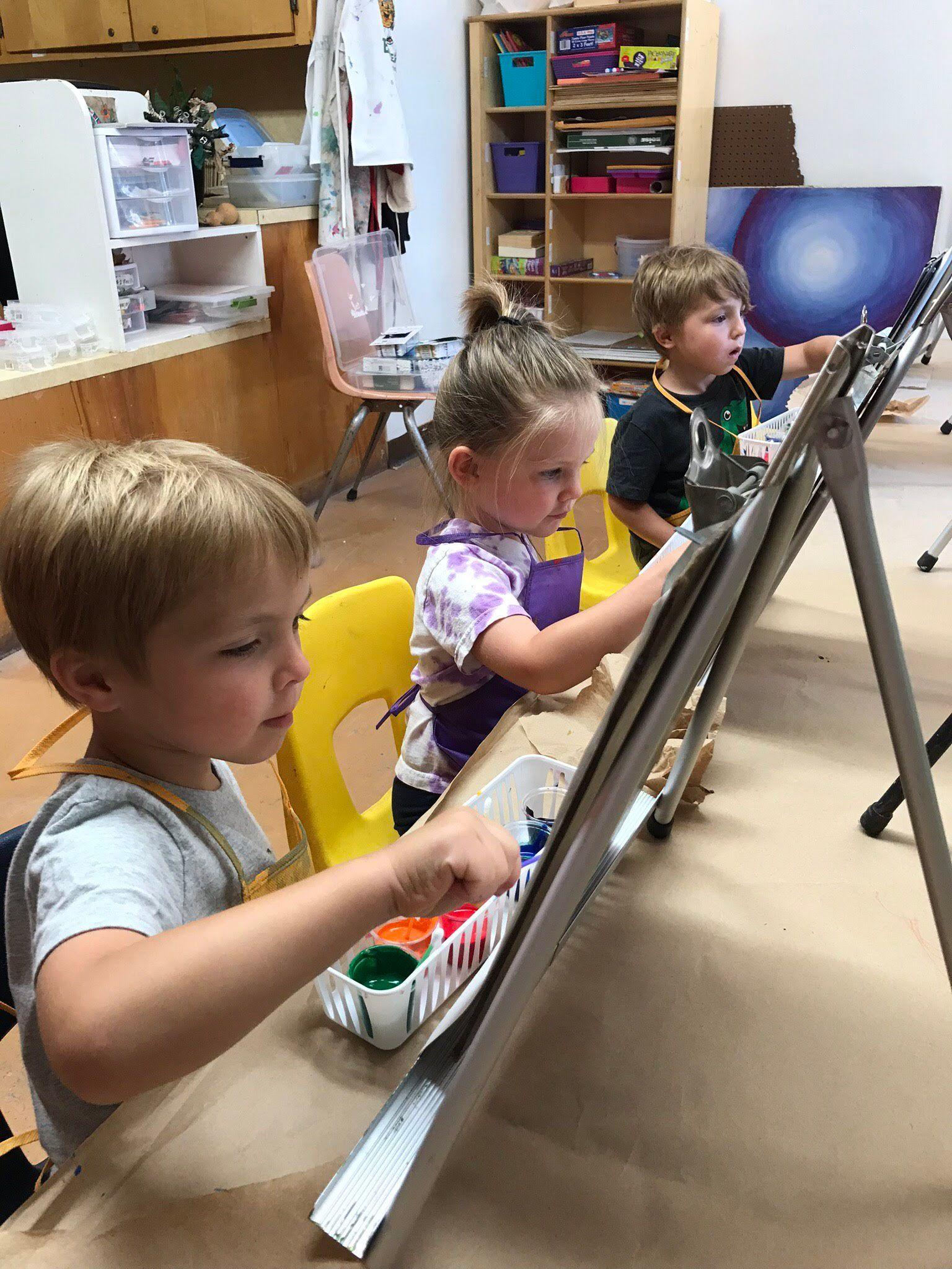 Paint & Play: BIG ideas!