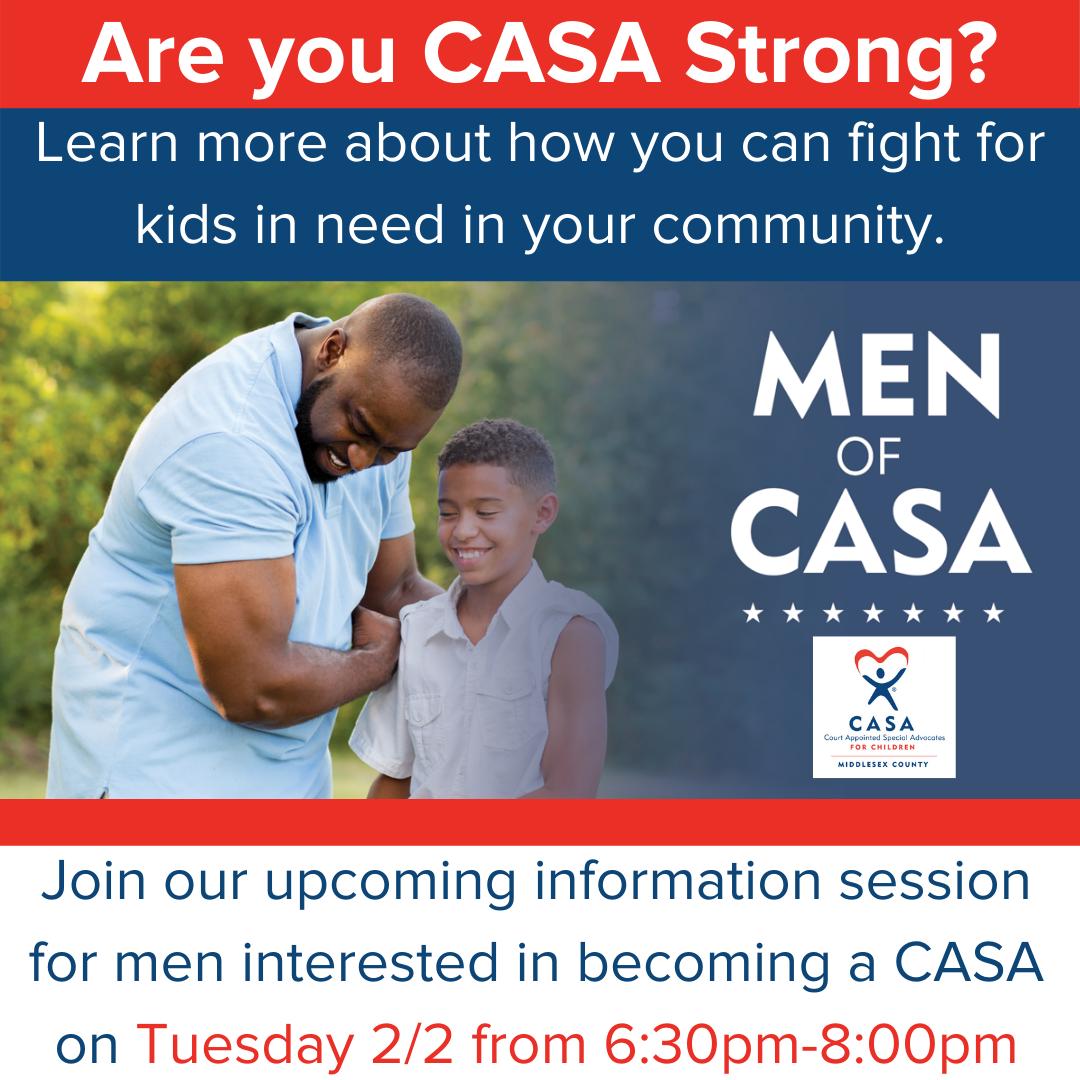 CASA Information Session for Men