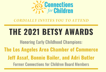Tickets and Sponsorship Opportunities Available Now for the 2021 Betsy Awards!