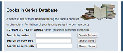 Books in Series Database
