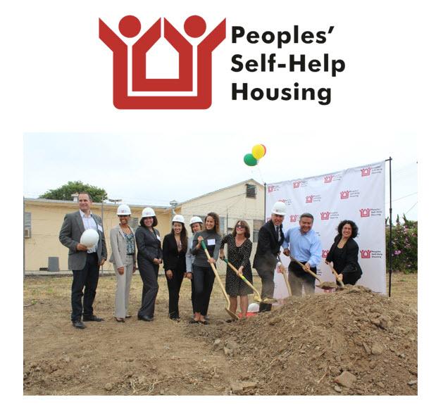 Peoples' Self-Help Housing Breaks Ground on  Affordable Santa Barbara Apartments