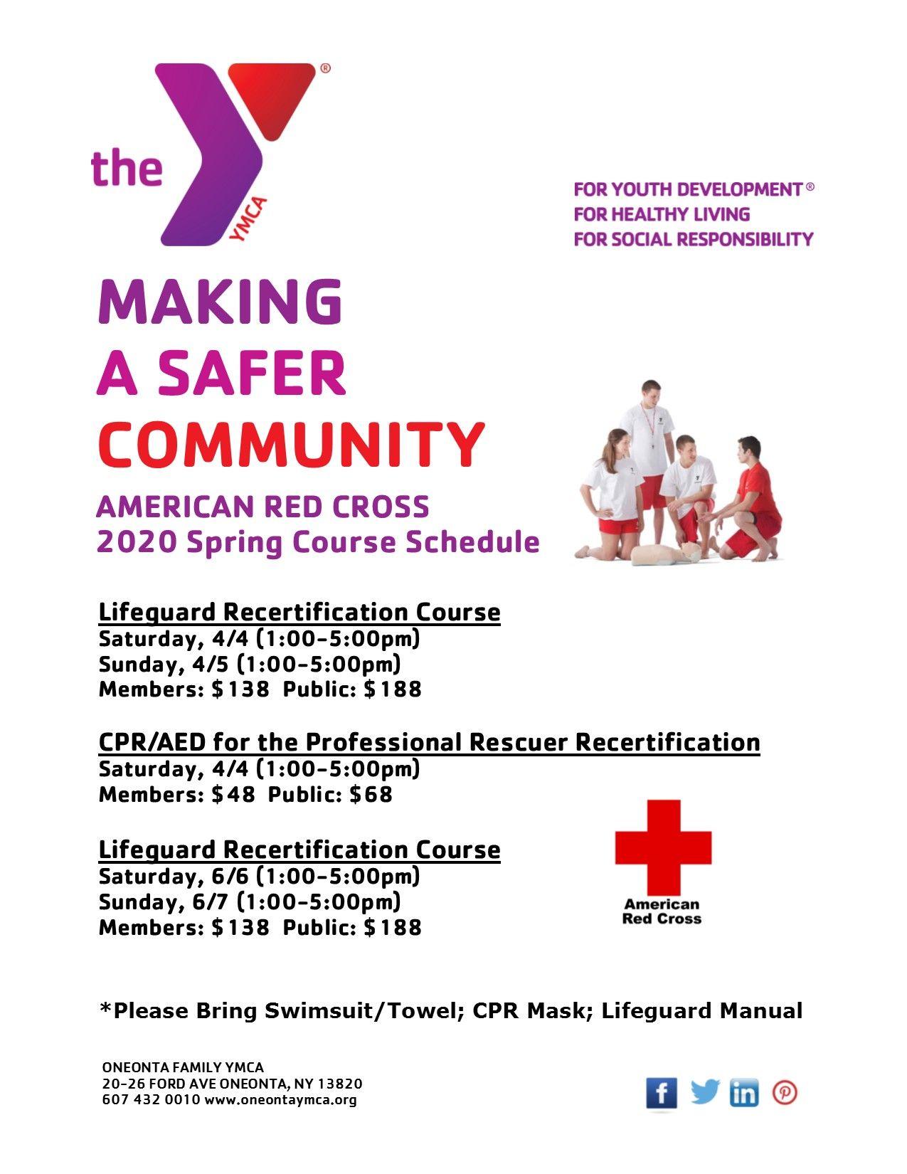 Red Cross Spring Training
