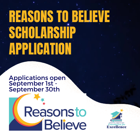 Reason To Believe Scholarships