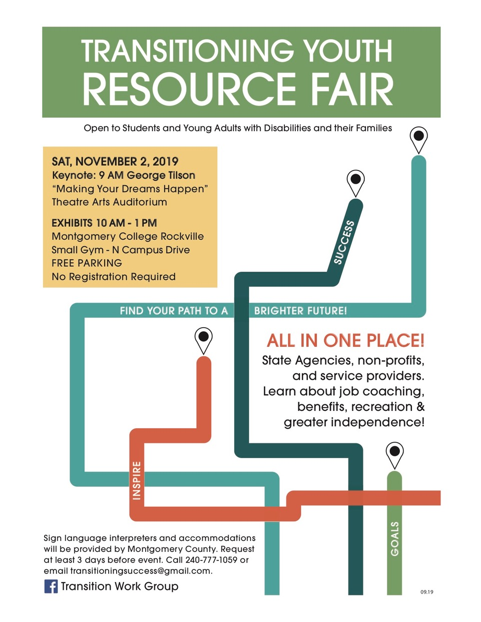 Transitioning Youth Resource Fair