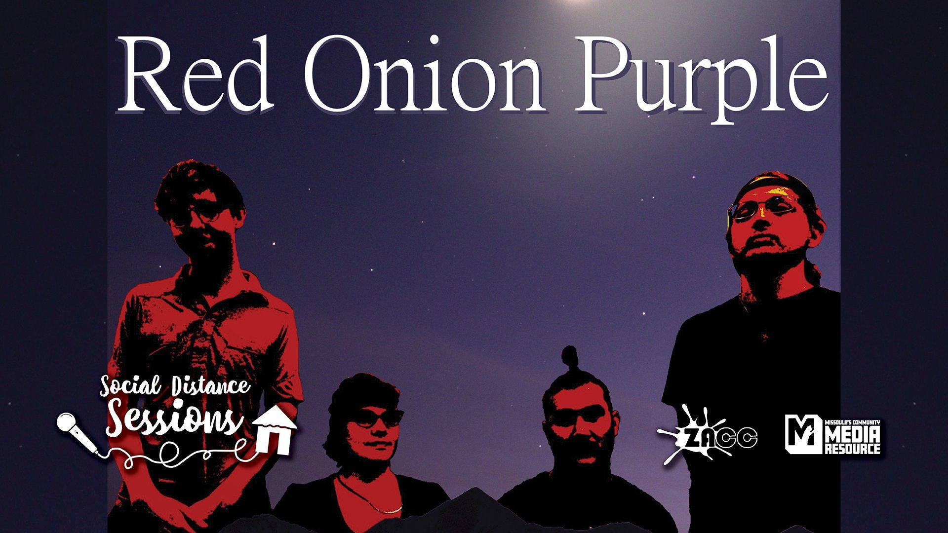 Social Distance Sessions: Red Onion Purple