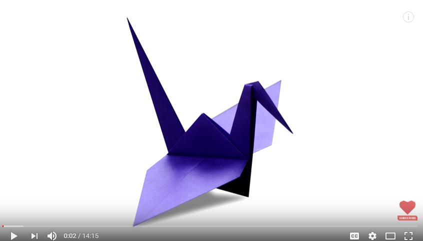 Origami - Crane