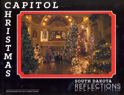 Capitol Christmas South Dakota Reflections