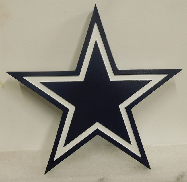 V31712A - Carved Wall Plaque for US Army Star