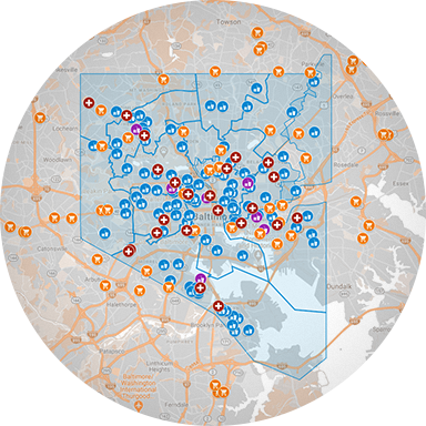 COVID-19 Asset Map