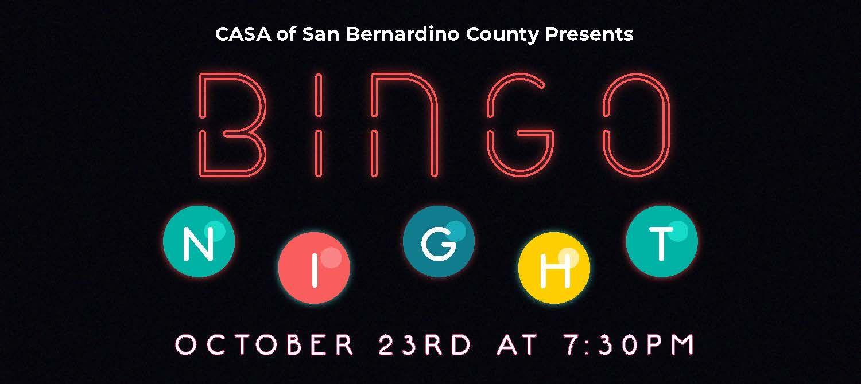 CASA Presents BINGO
